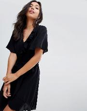 Mable Belted Wrap Dress
