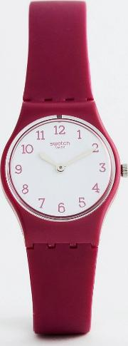 lr130 original redbelle watch  burgundy
