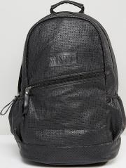 Backpack In Black Perforated