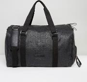Holdall In Black Pu