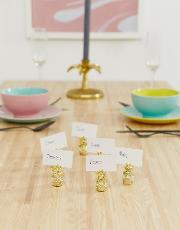 6 Pack Pineapple Place Card Holders