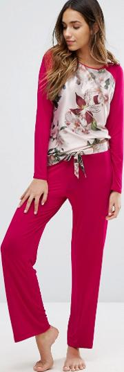 b by opulent bloom jersey pant