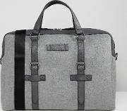 cabble document bag in wool