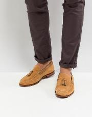 dougge suede loafers in stone