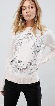 Enchanted Dream Print Jumper