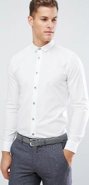 Slim Smart Shirt In Texture