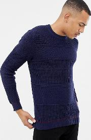 t for tall jumper in chunky cable knit with hem detail