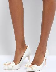 tie the knot skalett heeled shoes