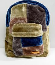 Oversized Faux Fur Backpack