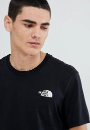simple dome t shirt in black
