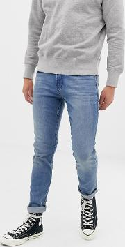 Skinny Fit Jeans Inlight Stone Wash