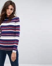 Bold Stripe Knit Jumper