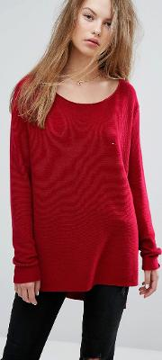 Drape Knit Jumper