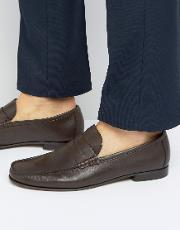 russel leather loafers