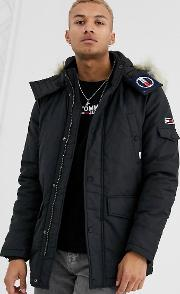 Technical Quilted Parka