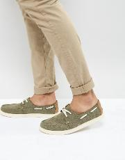 culver boat shoes in brown