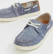Culver Chambray Boat Shoes