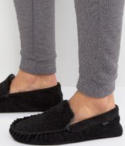 cord moccasin slippers