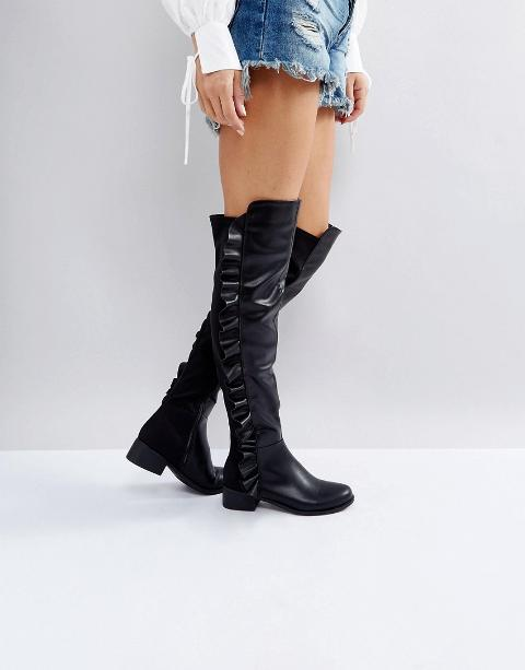 d85a5566937 Shop Flat Boots for Women - Obsessory