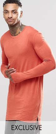 super longline  sleeve t shirt