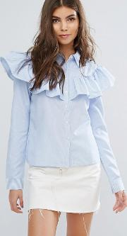 impact frill blouse