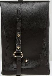 Simple Leather Across Body Bag