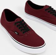 Authentic Trainers Burgundy