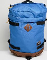 clamber backpack in blue