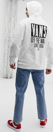 Oversized Hoodie With Back Print Vn0a3hyjwht1