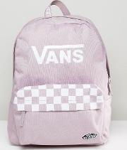 sporty realm backpack in lilac