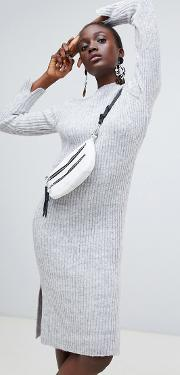 Knitted Midi Jumper Dress