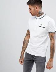 jet pocket polo shirt