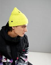 Snow Sweep Beanie In Yellow