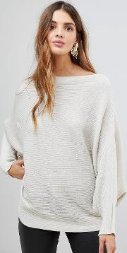 Jumper With Boat Neck
