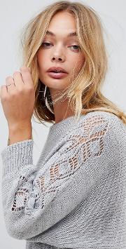 Off Shoulder Jumper