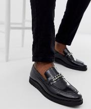 Del Chain Loafers High Shine