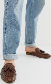 Jacob Woven Slip On Loafers