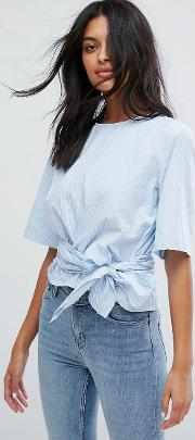 Izzy Belted Top