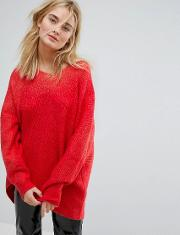 Hi Lo Knit Jumper