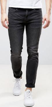 Alessandro Slim Fit Jeans In Cloudy Grey