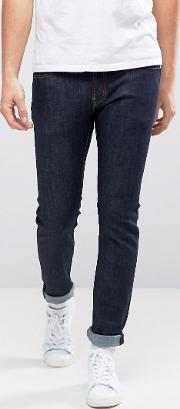 alessandro slim fit jeans in rinse wash