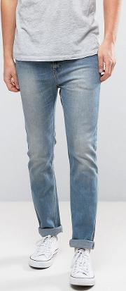 Eddy Slim Fit Jeans In Washed Out Blue