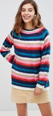 Willow & Paige Fluffy Knit Jumper