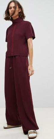 Wood  Josette Relaxed Wide Leg Trousers