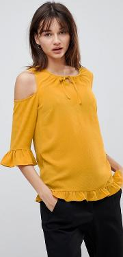 Sussi Cold Shoulder Blouse