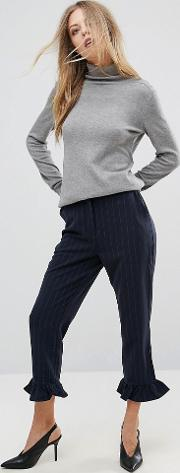 Tailored Striped Trouser