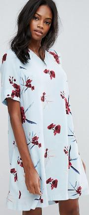 Y.a.s Floral Shift Dress
