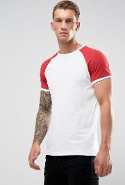 Muscle Ringer  Shirt  White