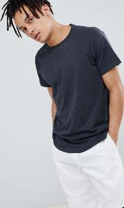 raglan t shirt with step hem