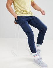 relaxed chino  skater fit  blue